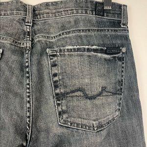 7FAM Bootcut Denim Jeans Size 32